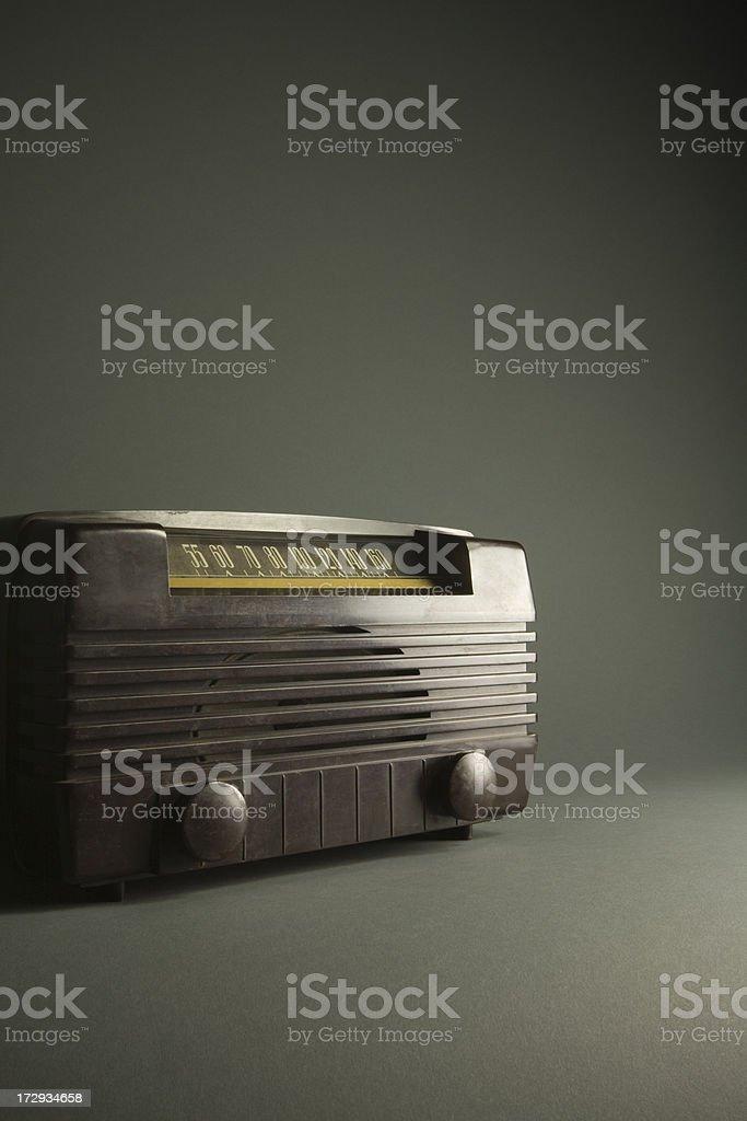 ビンテージ時ラジオ ロイヤリティフリーストックフォト