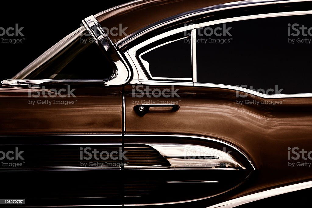 Vintage American Car stock photo