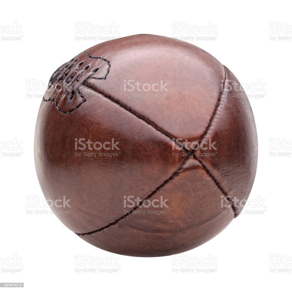 vintage american football ball stock photo