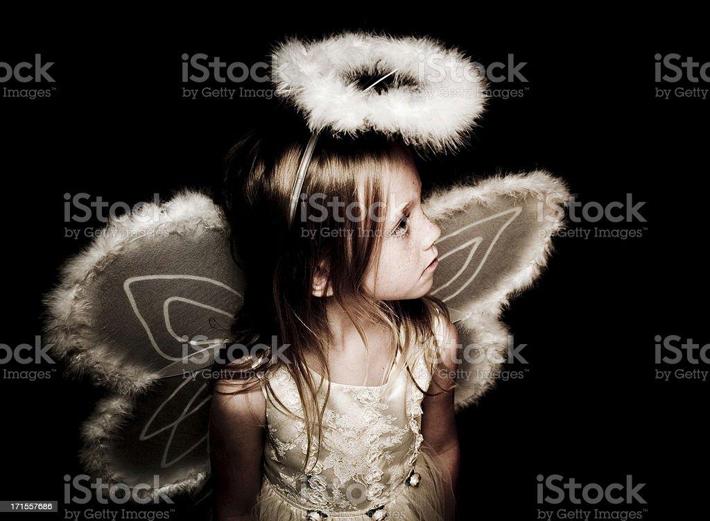 Vintage Angel royalty-free stock photo