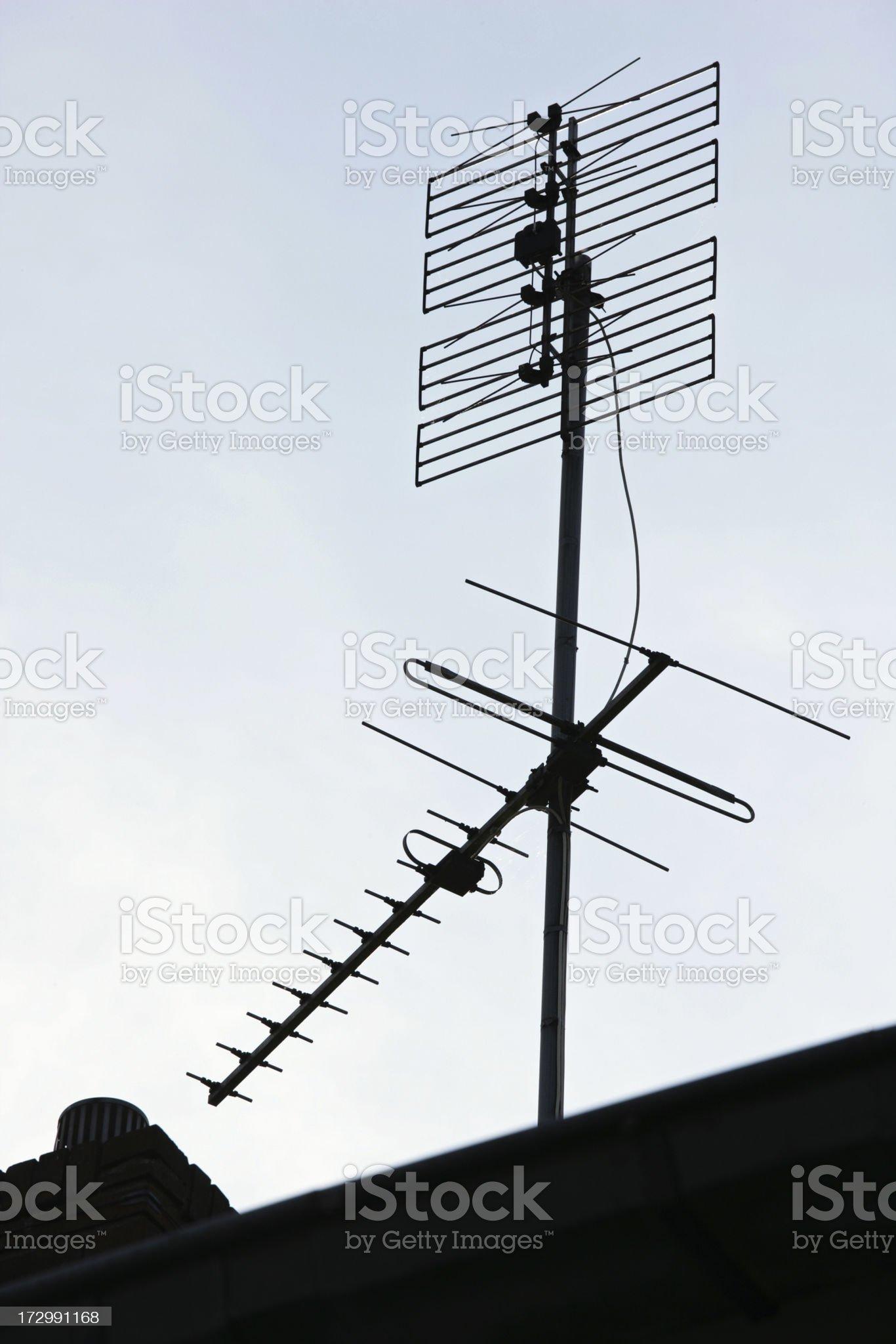 Vintage antenna  (XXL) royalty-free stock photo