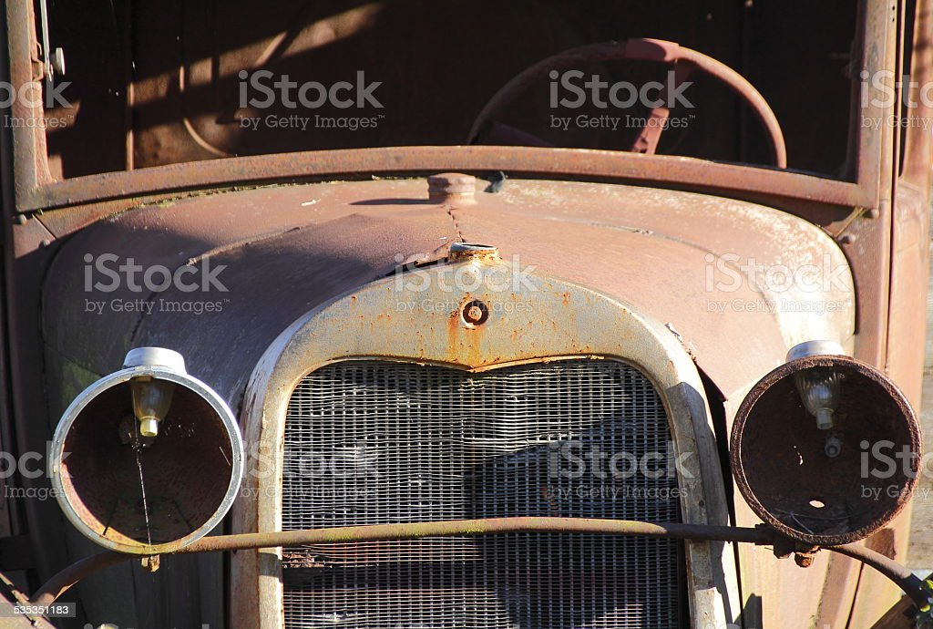 Vintage Antique Car stock photo