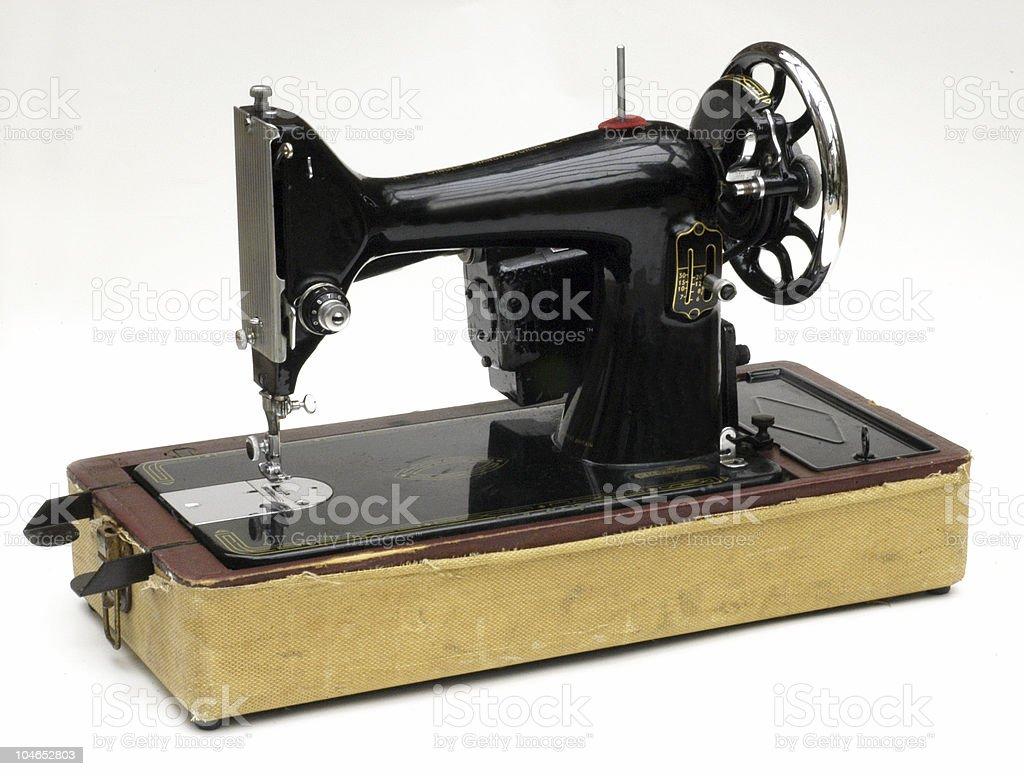 Vintage Antique Singer sewing machine royalty-free stock photo