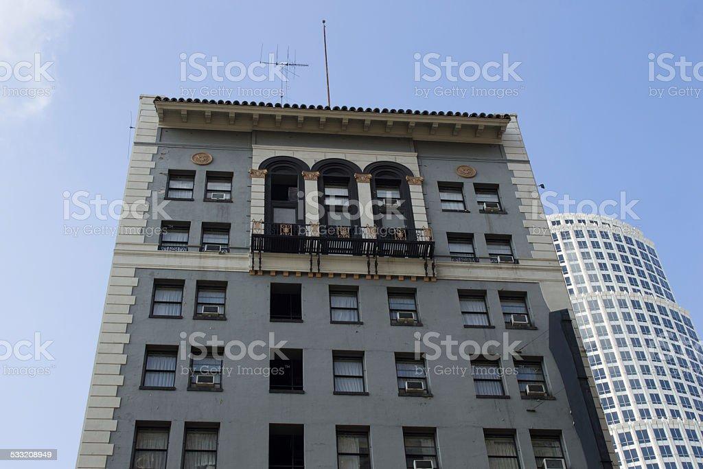 Vintage Apartment Building stock photo