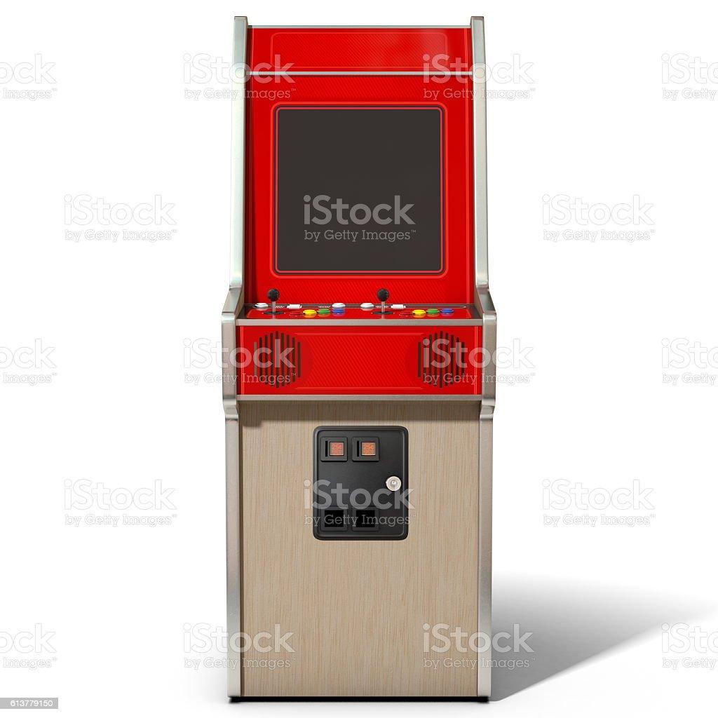 Vintage Arcade MAchine stock photo