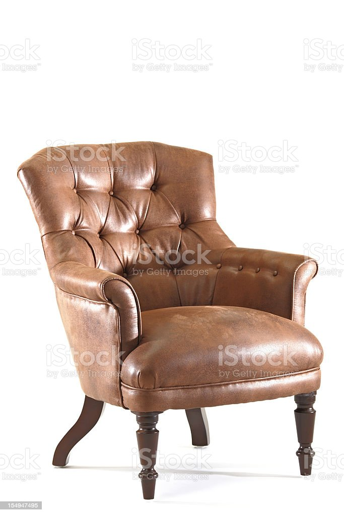 Vintage Armchair stock photo