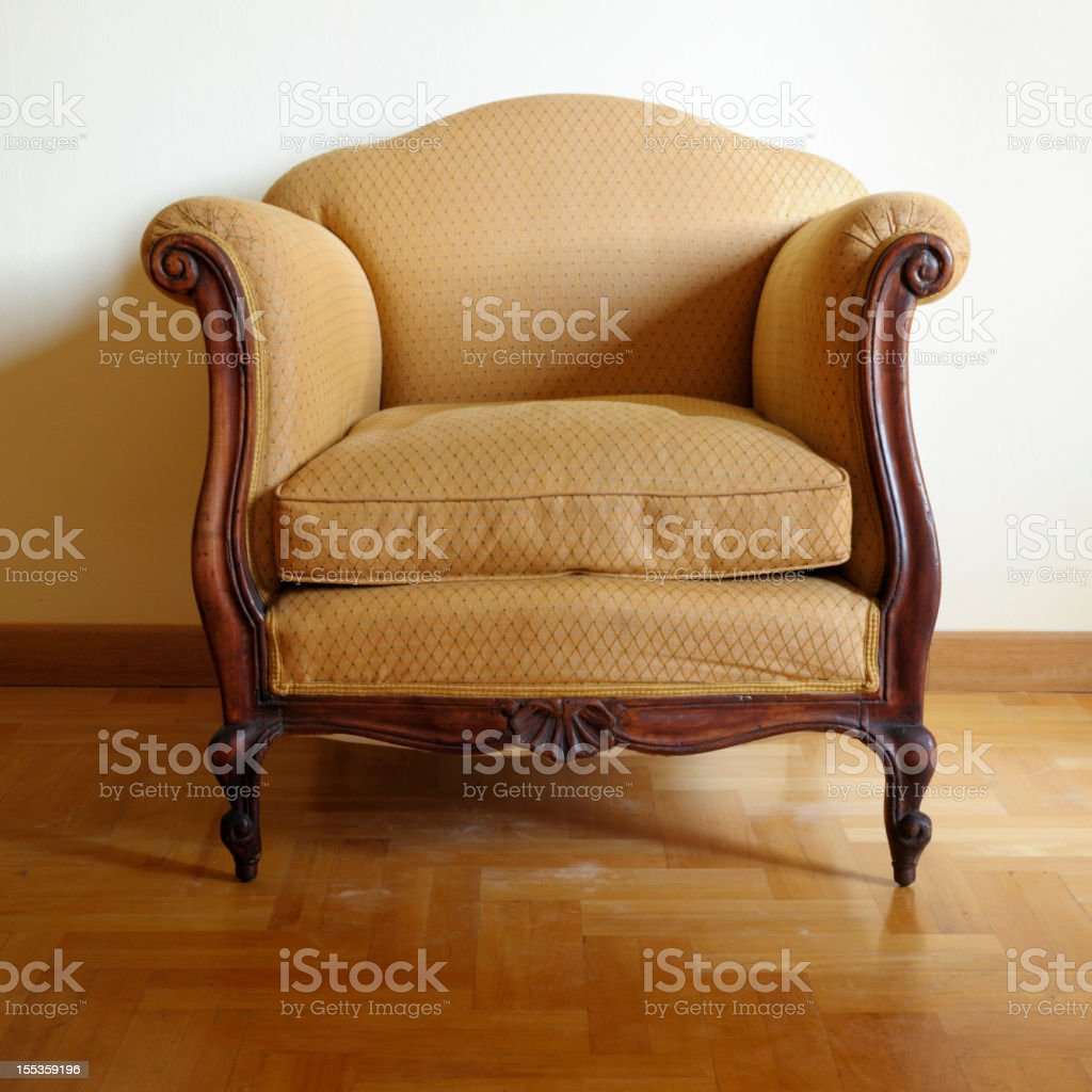 Vintage Armchair royalty-free stock photo