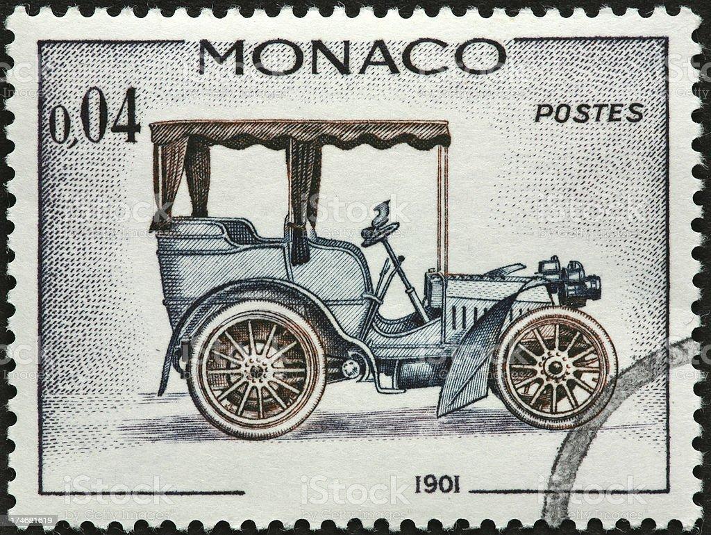 vintage auto stock photo