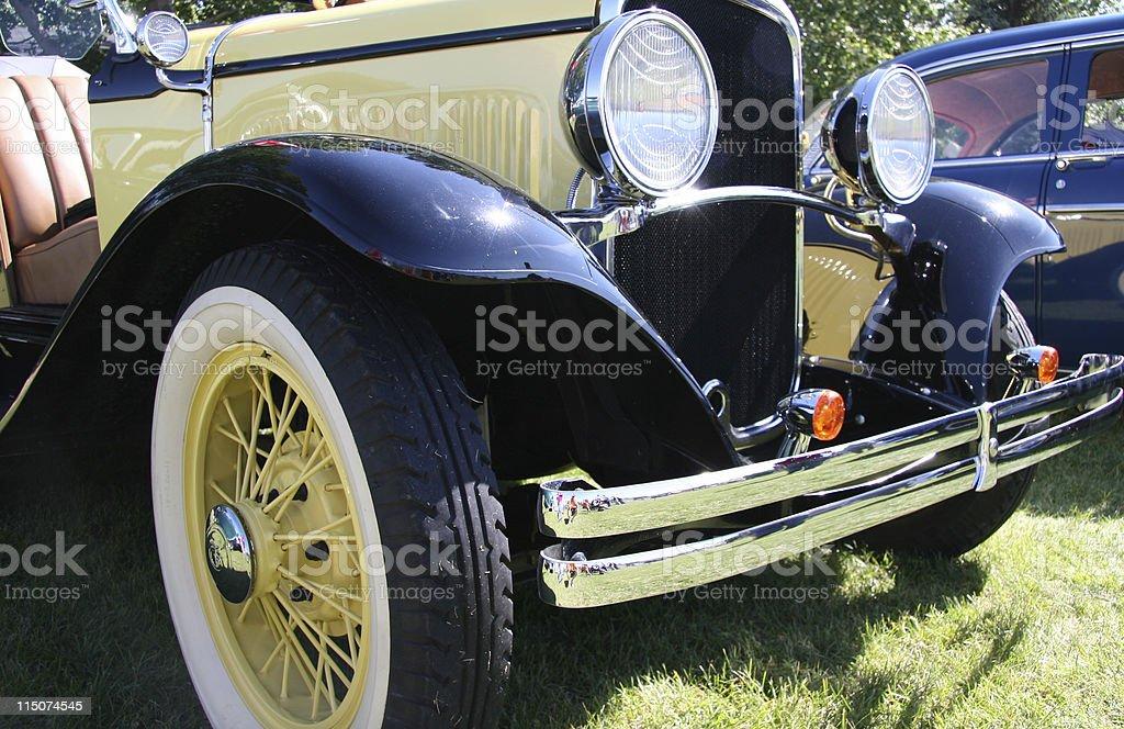 Vintage Automobile stock photo