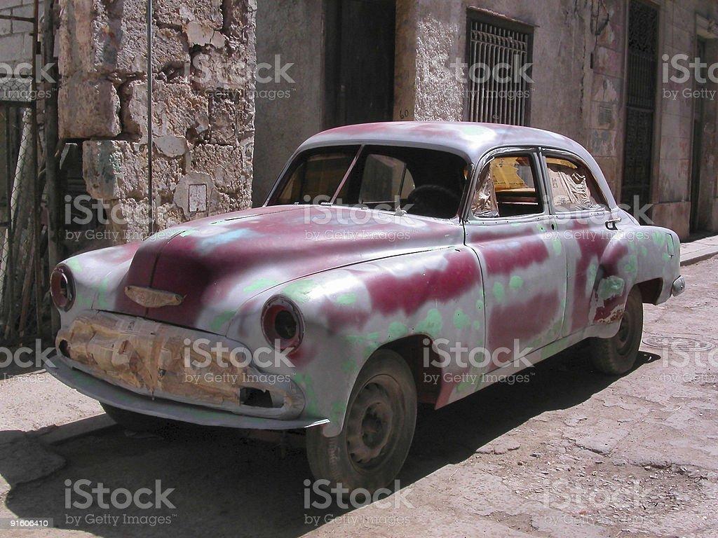 Vintage automobile royalty-free stock photo