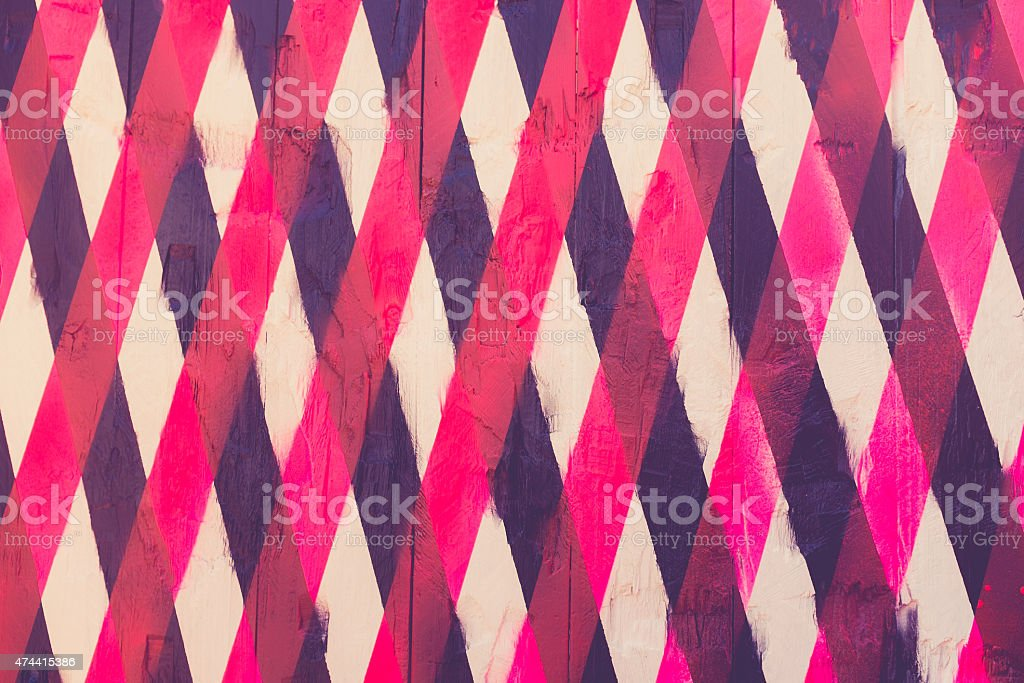 vintage background of overlapping stripes vector art illustration