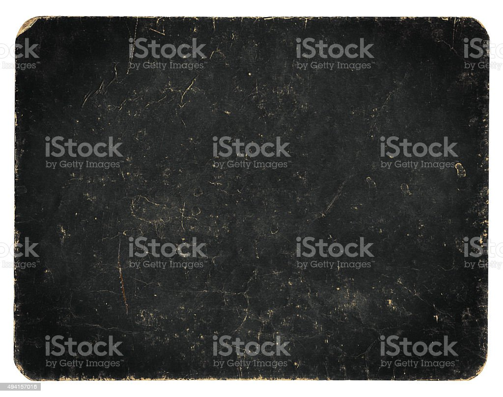 Vintage banner or background isolated on white with clipping path stock photo