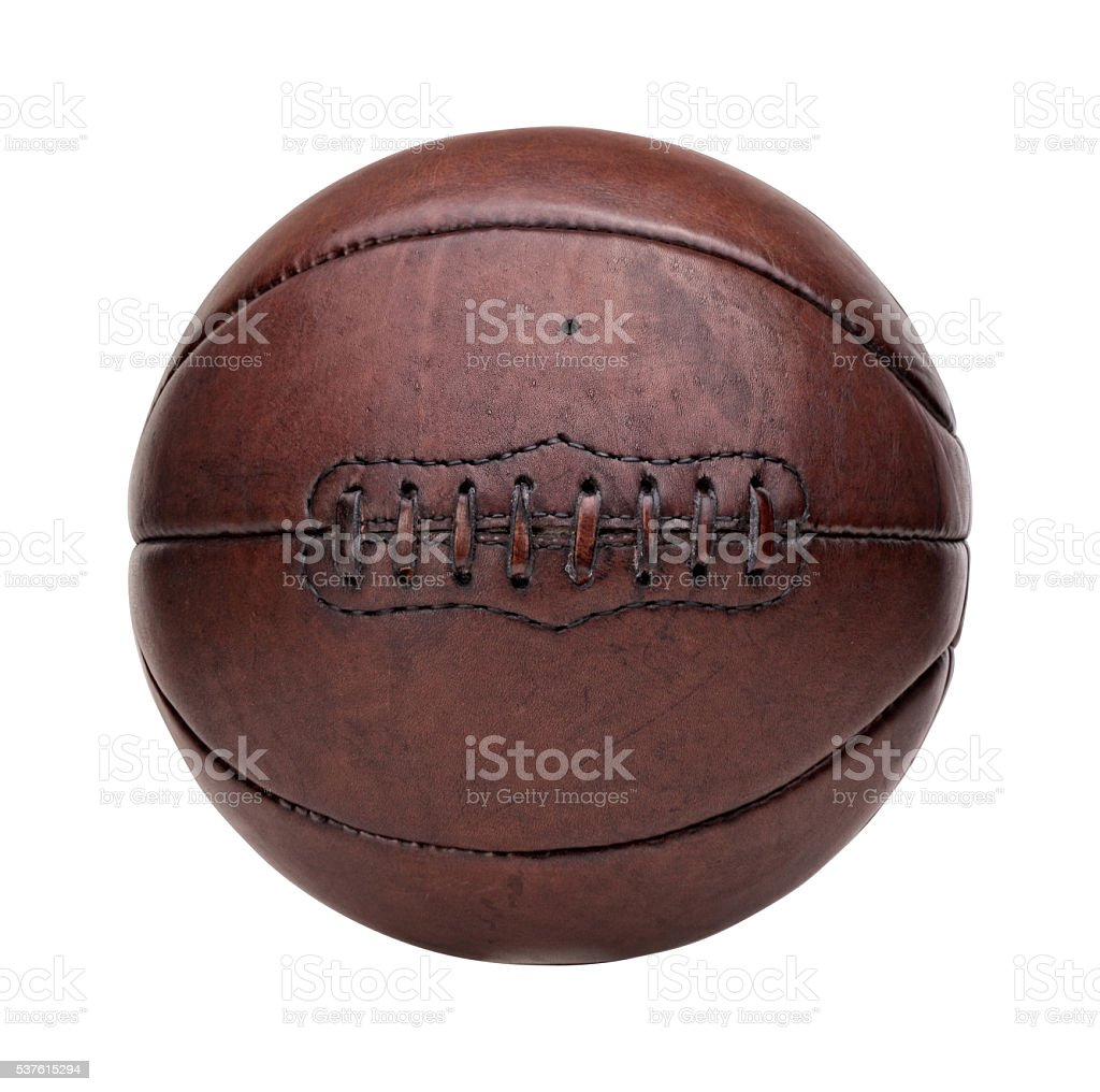 vintage basket ball stock photo