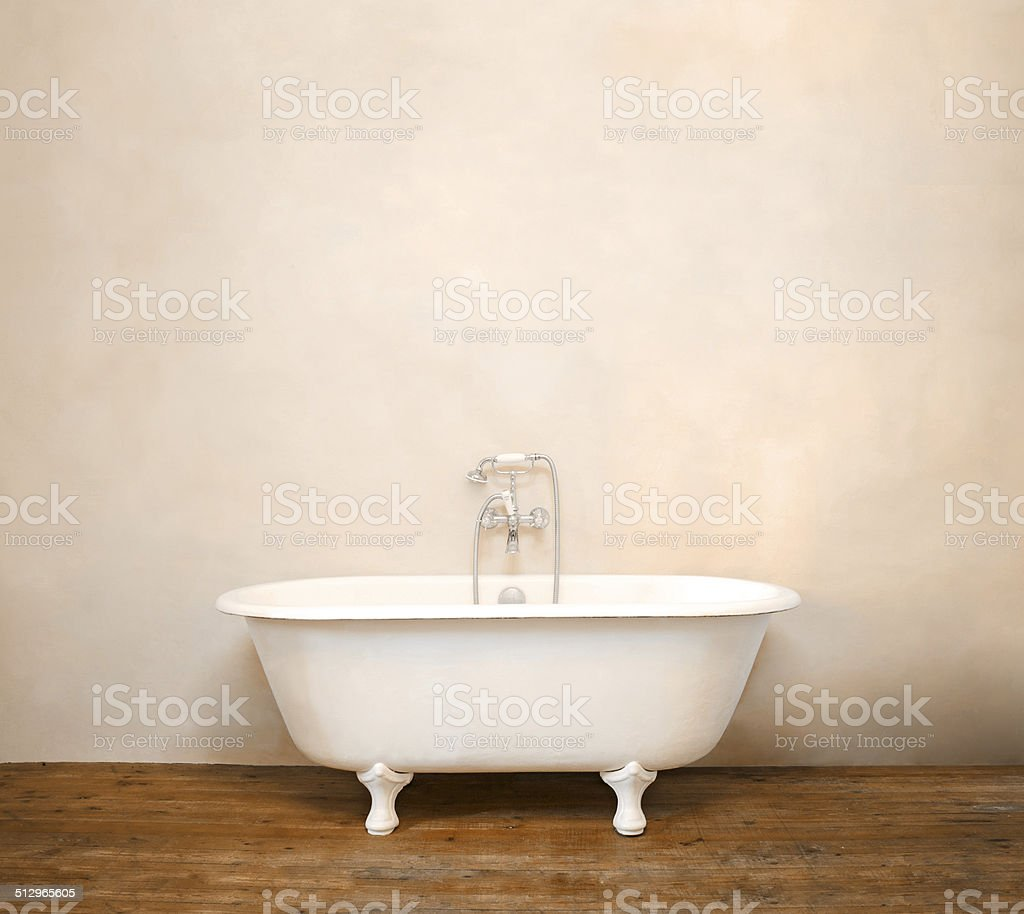 Vintage Bathroom stock photo