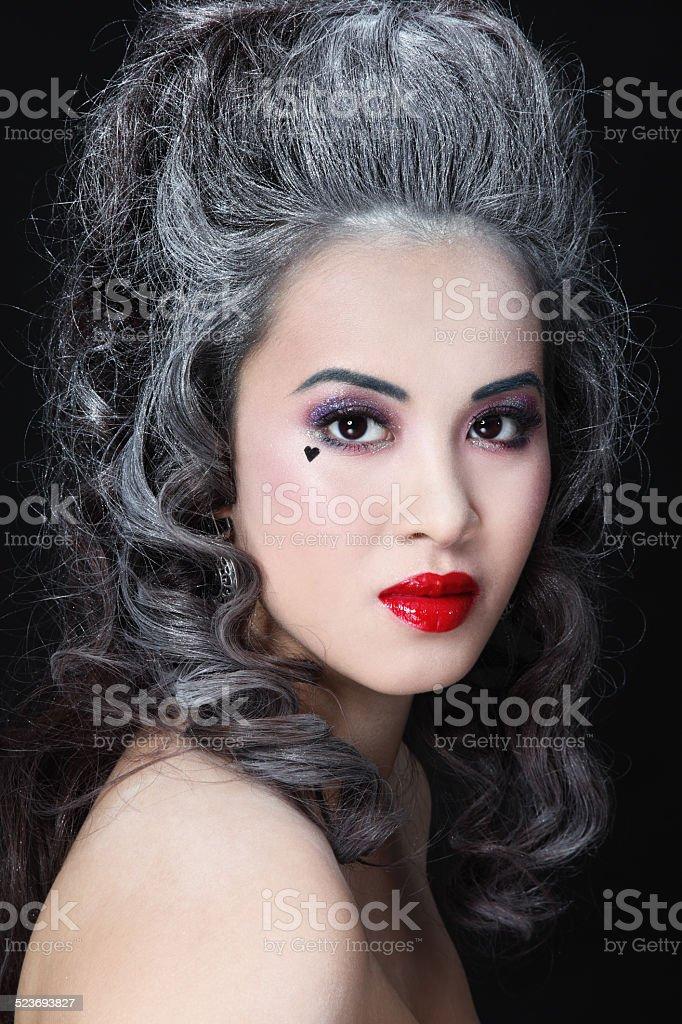 Vintage beauty stock photo