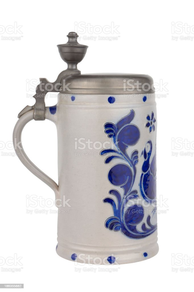 Vintage Beer Mug royalty-free stock photo