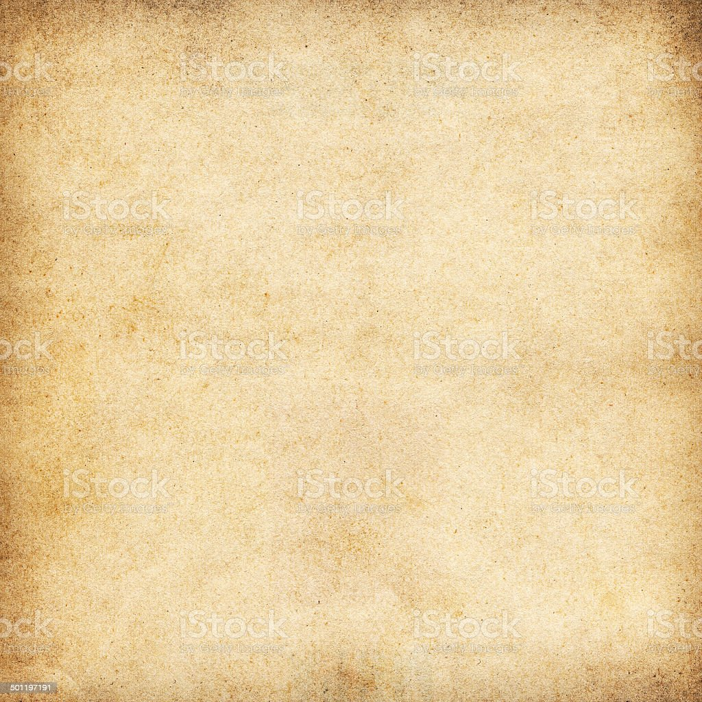 Vintage beige paper texture or background stock photo