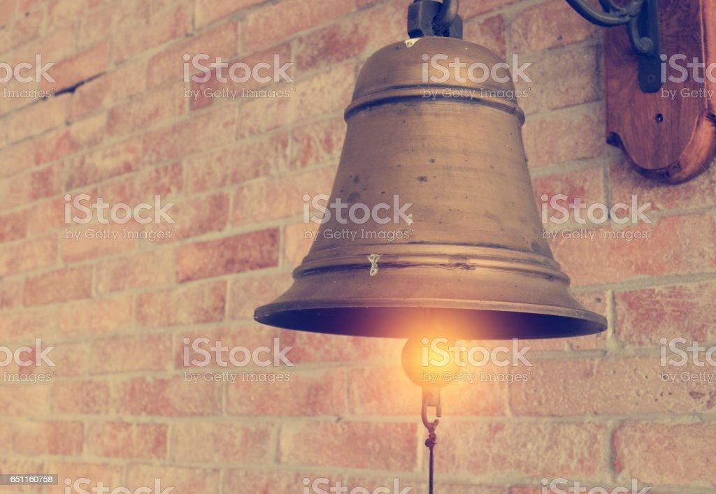 Vintage bells stock photo