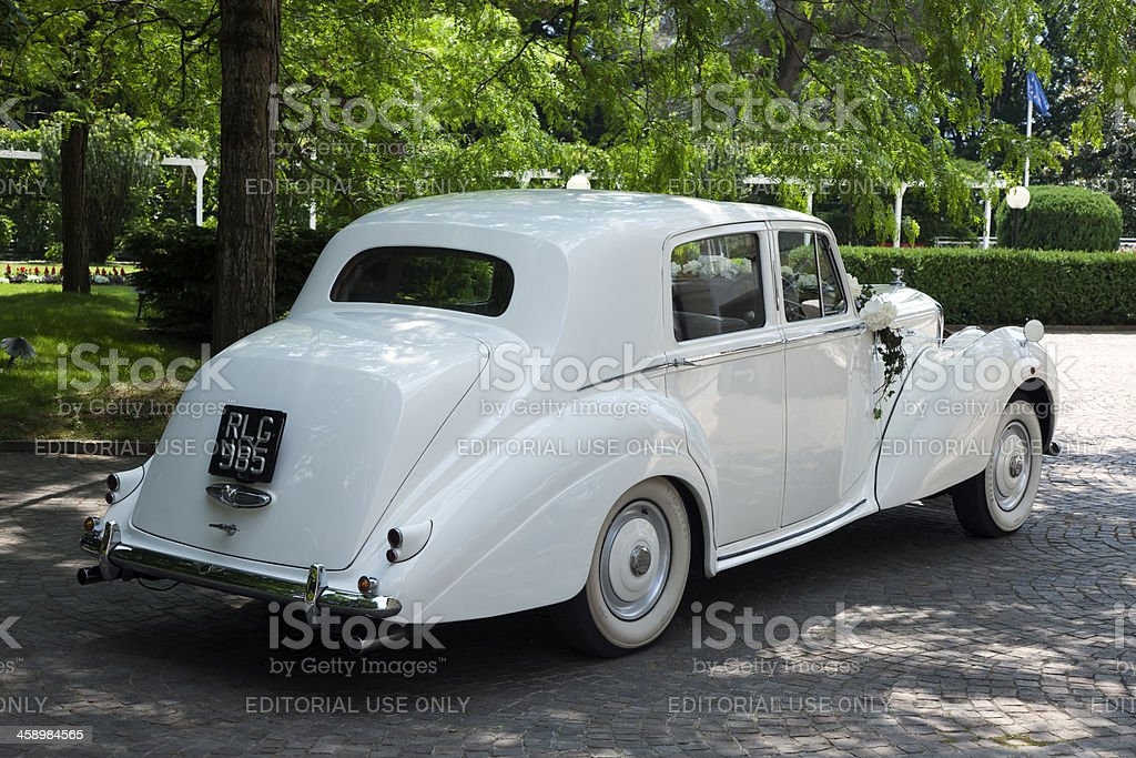Vintage Bentley Car royalty-free stock photo