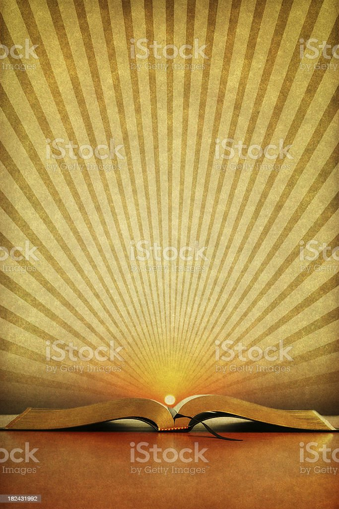 Vintage Bible royalty-free stock photo