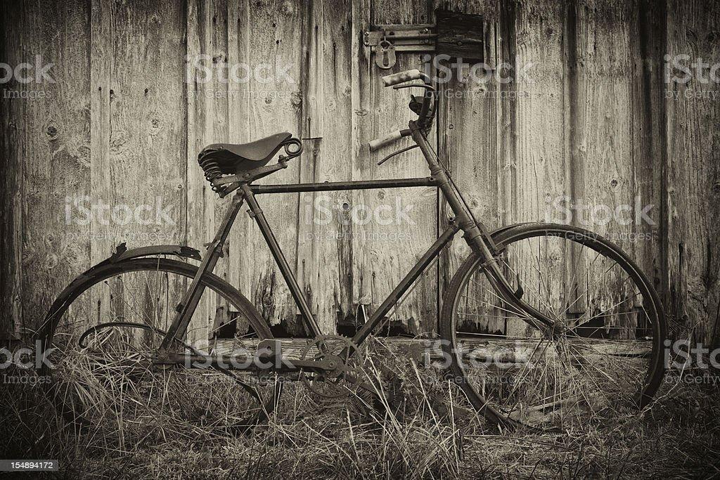 Vintage Bicycle. royalty-free stock photo