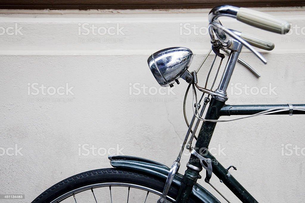 Vintage bike royalty-free stock photo