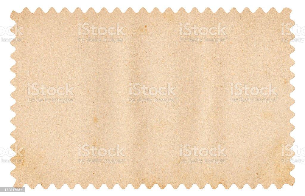 Vintage Blank Stamp XXXL royalty-free stock photo