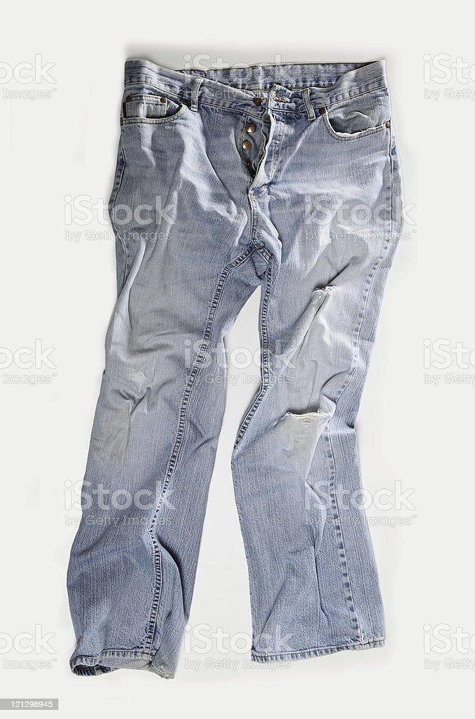 Vintage Blue Jeans stock photo