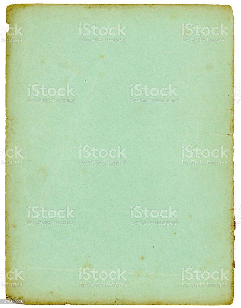 Vintage Blue Paper stock photo