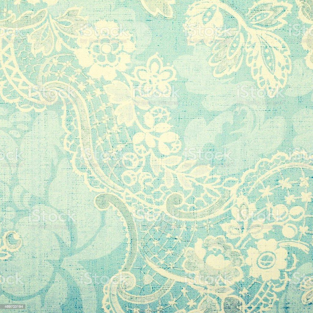 Papel tapiz vintage azul stock foto e imagen de stock - Papel vintage pared ...