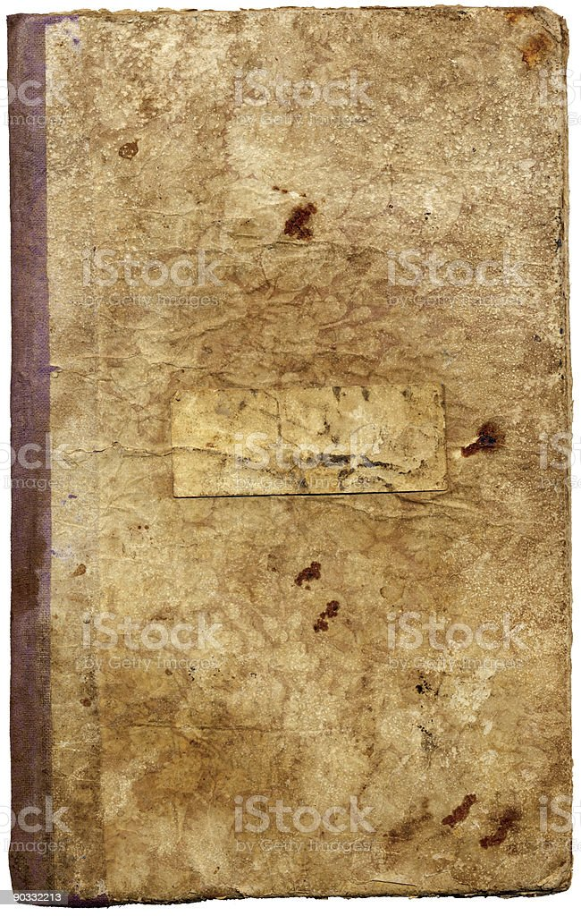 Vintage Book Cover XXL royalty-free stock photo