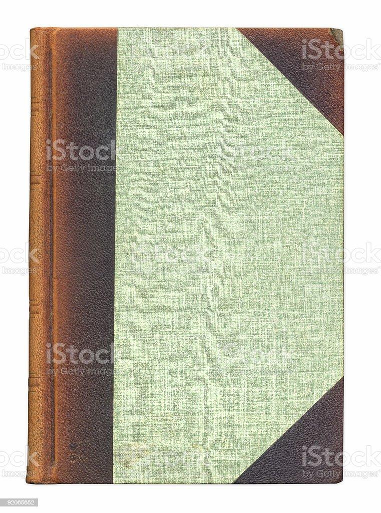 Vintage Book Cover XXL stock photo