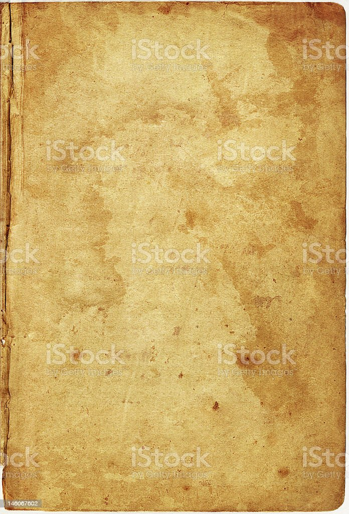 vintage book  page royalty-free stock photo