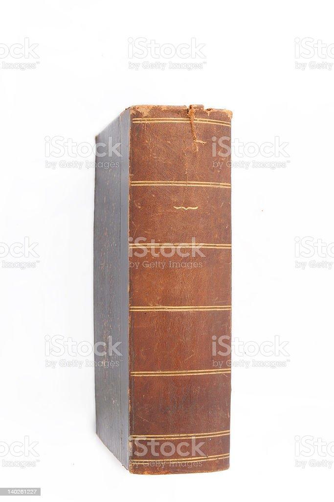Vintage book stock photo