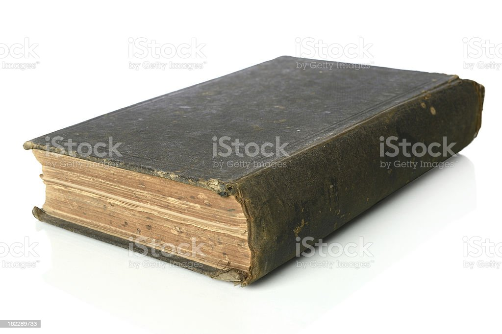 Vintage Book royalty-free stock photo