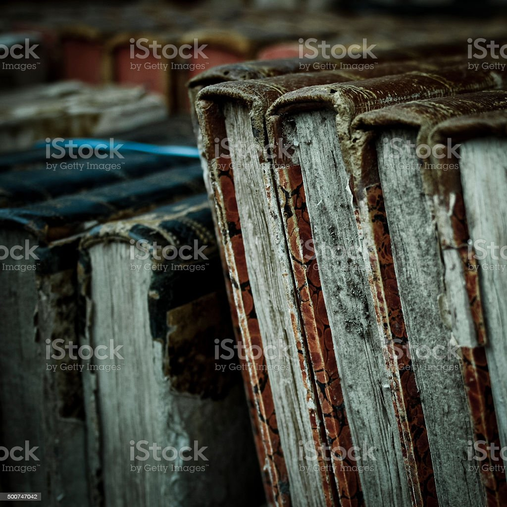 vintage book stock photo