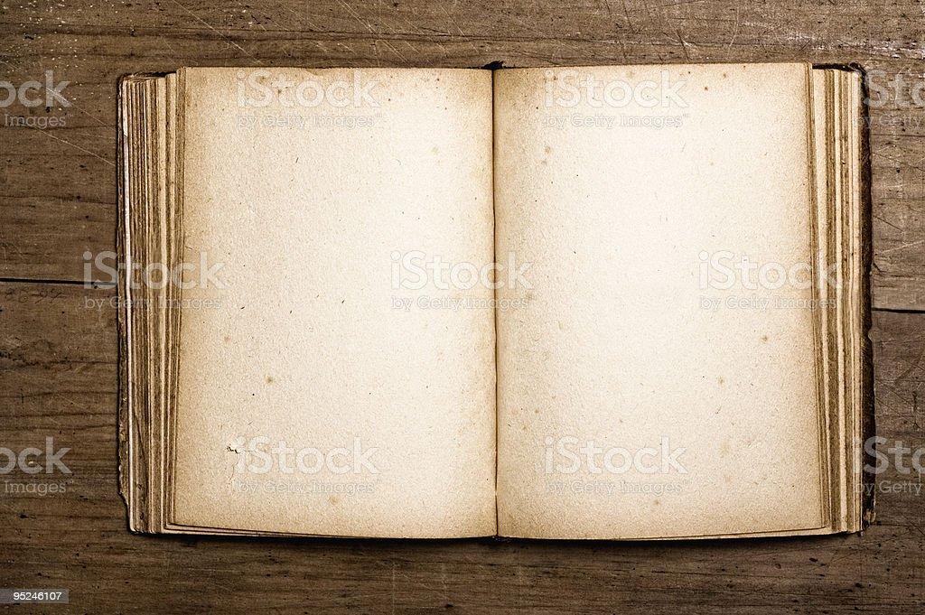 Vintage book. royalty-free stock photo