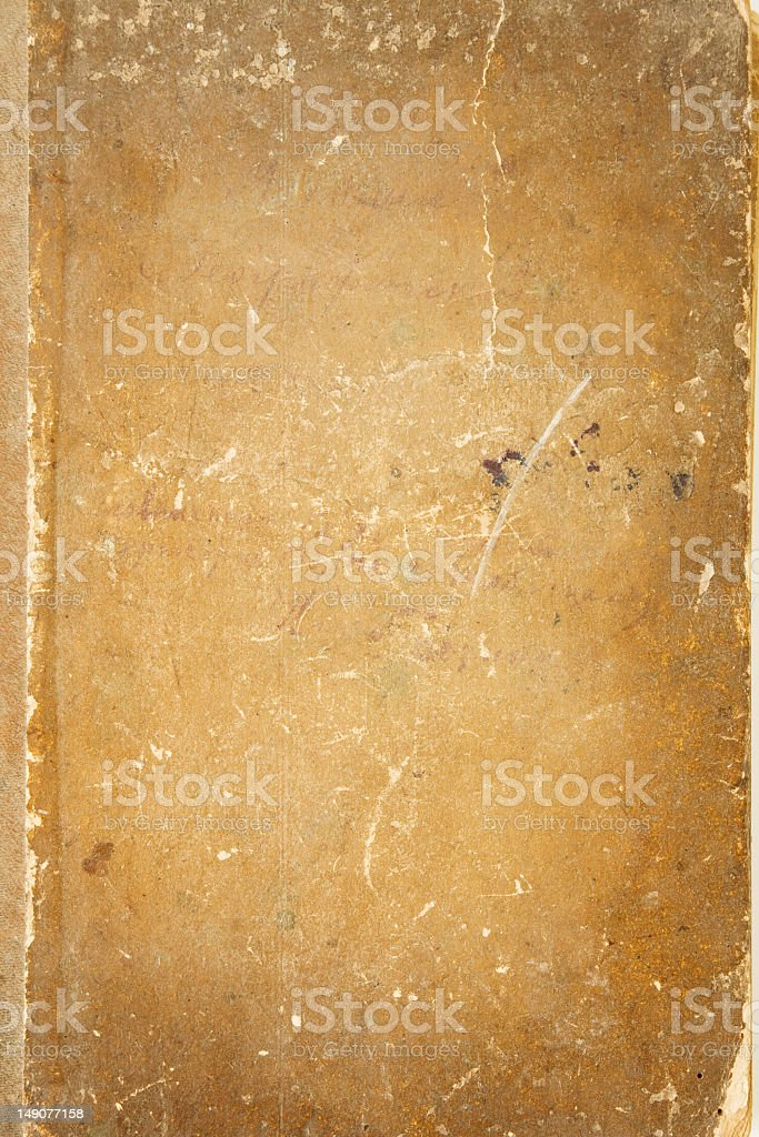 vintage bookcover royalty-free stock photo