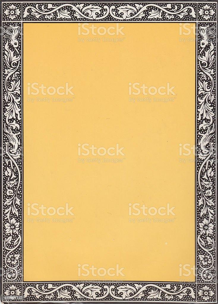 Vintage Border - XXXL High Resolution stock photo