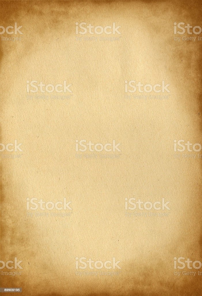 Vintage Bordered Paper XL royalty-free stock photo