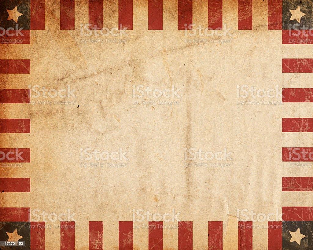 Vintage Bordered Paper XXXL stock photo
