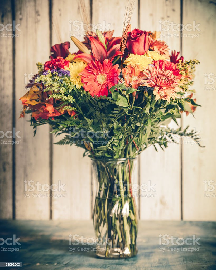 Vintage Bouquet stock photo