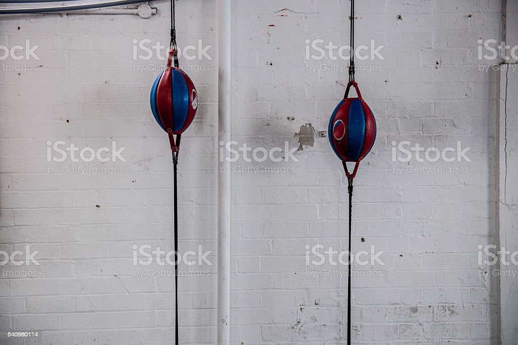 Vintage Boxing Club stock photo