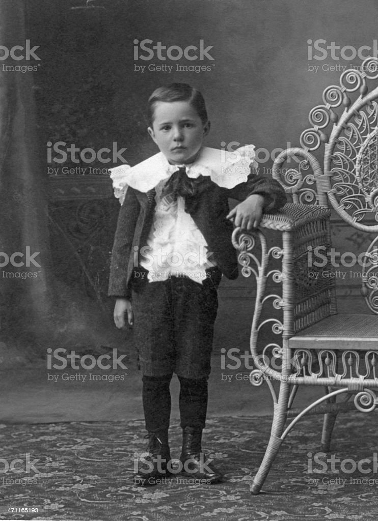 Vintage Boy  Please view other images from this series royalty-free stock photo