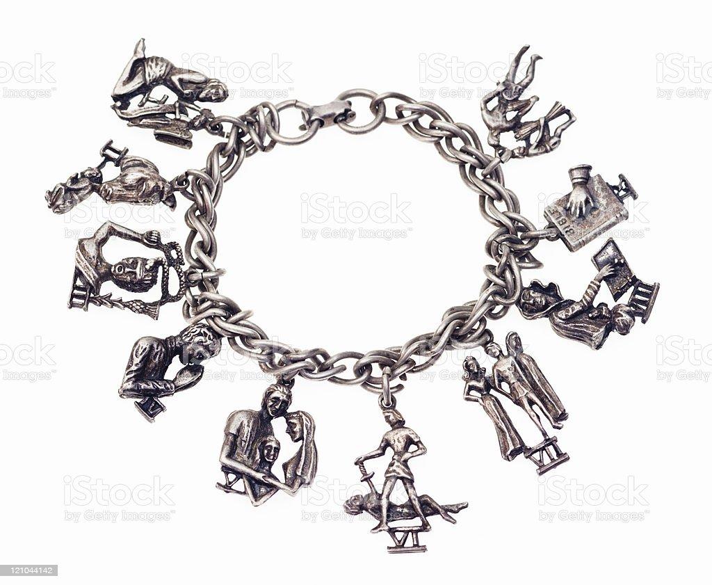 Vintage Bracelet stock photo