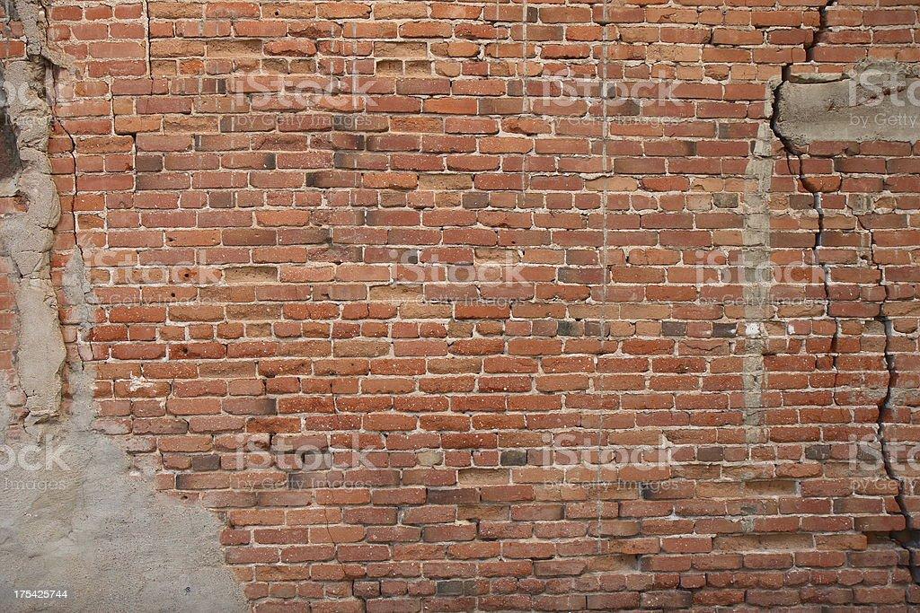 Vintage Brick Wall Background royalty-free stock photo