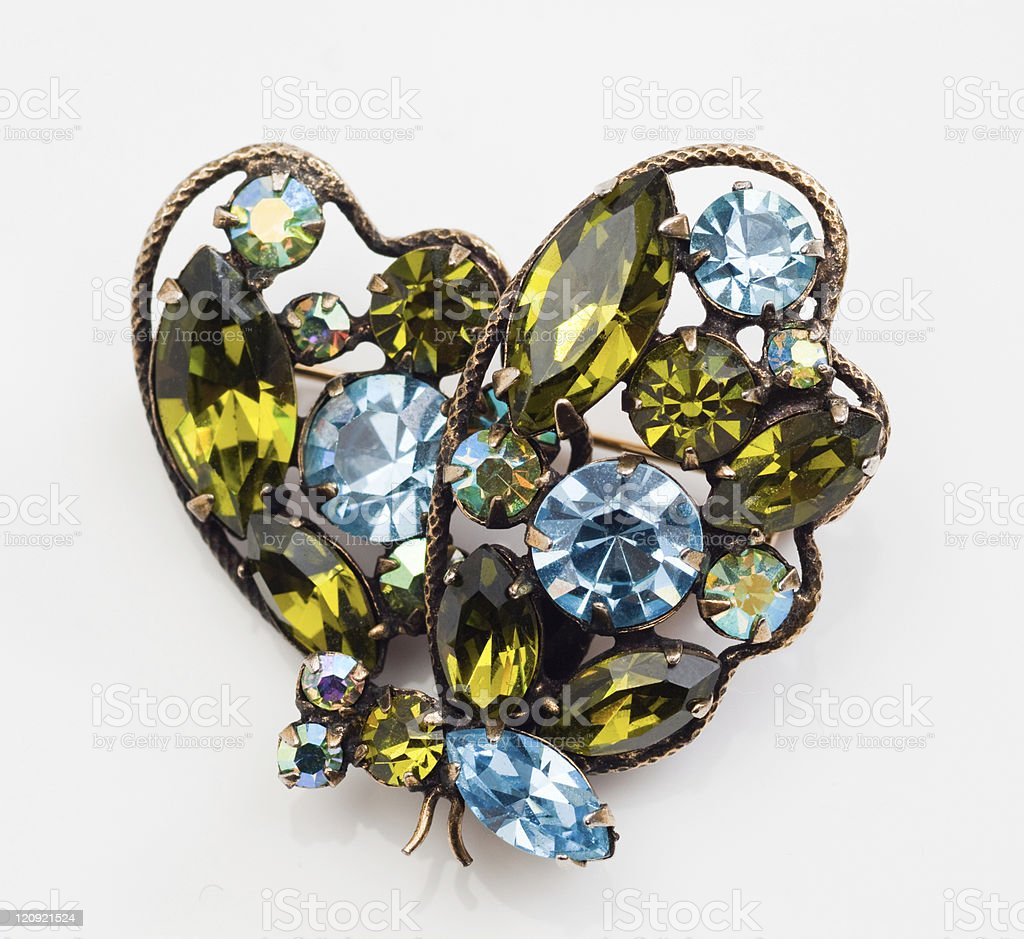 Vintage Brooch stock photo