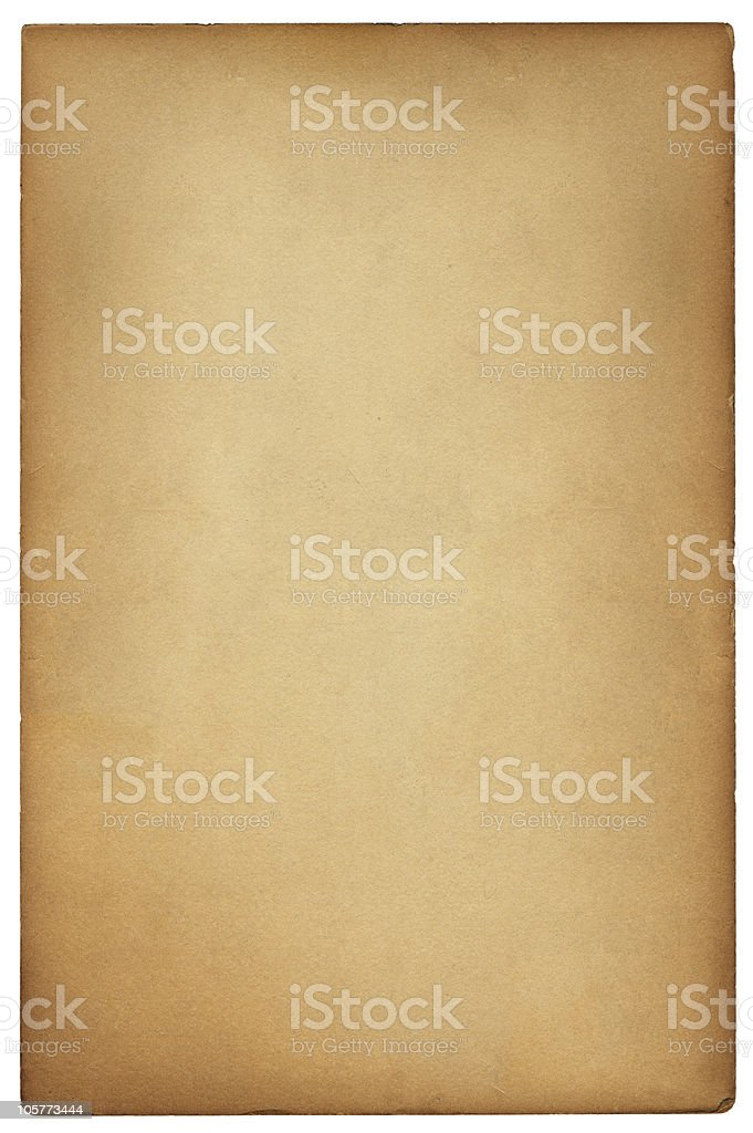 Vintage Brown Card stock photo