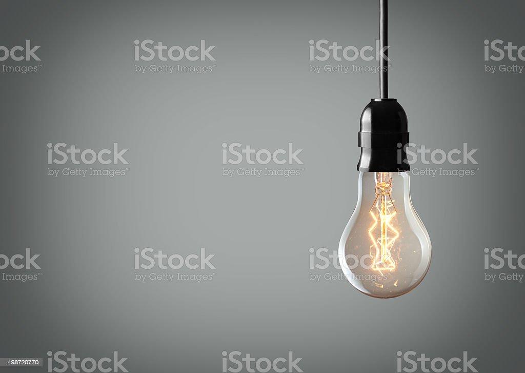 Vintage bulb stock photo
