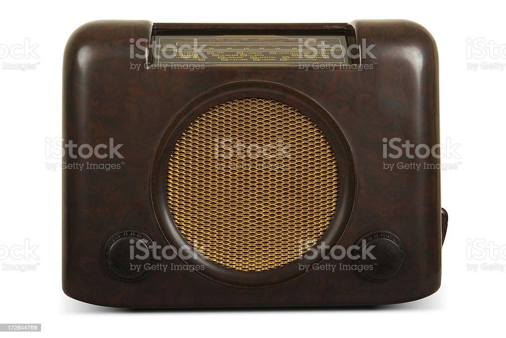 Vintage Bush DAC90A radio stock photo